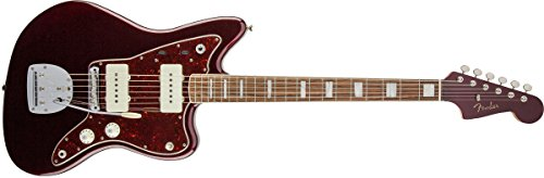Fender Jazzmaster Troy Van Leeuwen Oxblood de cuerpo sólido de la guitarra eléctrica