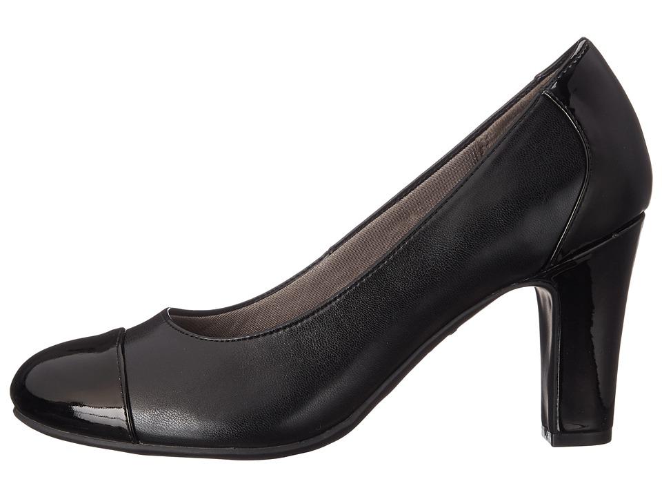 Tacones Mujer LifeStride Cajun Negro Tacón Medio Sintético