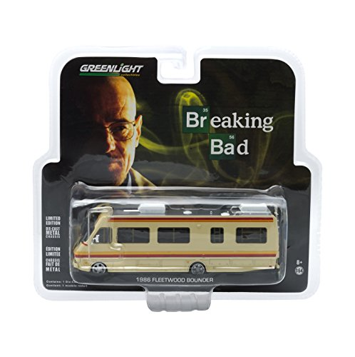 GreenLight Collectibles Breaking Bad 2008-13 Serie de TV - 1986 Fleetwood RV Bounder Vehículo (1:64 Escala)
