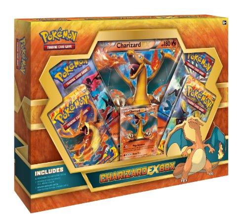 Pokemon Charizard ex casilla TCG Booster (fuera de servicio por el fabricante)