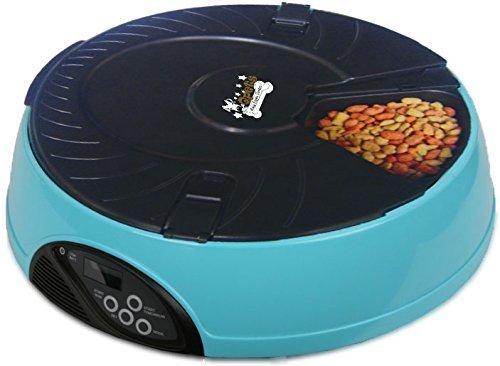 Qpets 6-Meal alimentador automático de mascotas