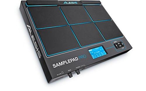 Alesis SamplePad Pro | 8-Pad de percusión y la Muestra-Activación del instrumento con ranura para tarjeta SD y 5-Pin de entrada / salida MIDI