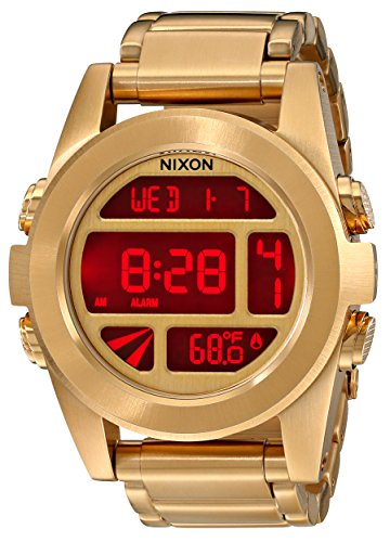 Nixon unisex La Unidad SS Todo reloj de oro Un tamaño