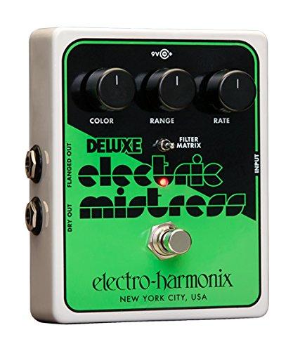 Pedal Electro-Harmonix Deluxe Electric Mistress XO guitarra Efecto Brida