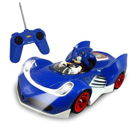 NKOK RC de Sonic SSAS R2 coche con las luces