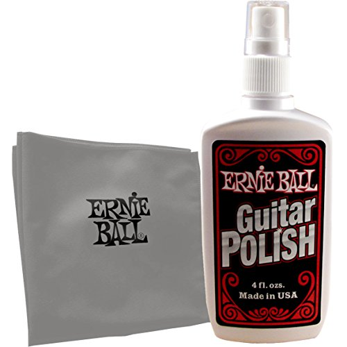 Ernie Ball Guitarra polaca con el trapo