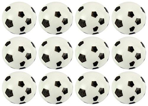 Conjunto de la bola del juguete de la bola 12 blando del Agua 'del balón de fútbol' Splat Squeezable Niños Niños, Perfecto para aliviar el estrés