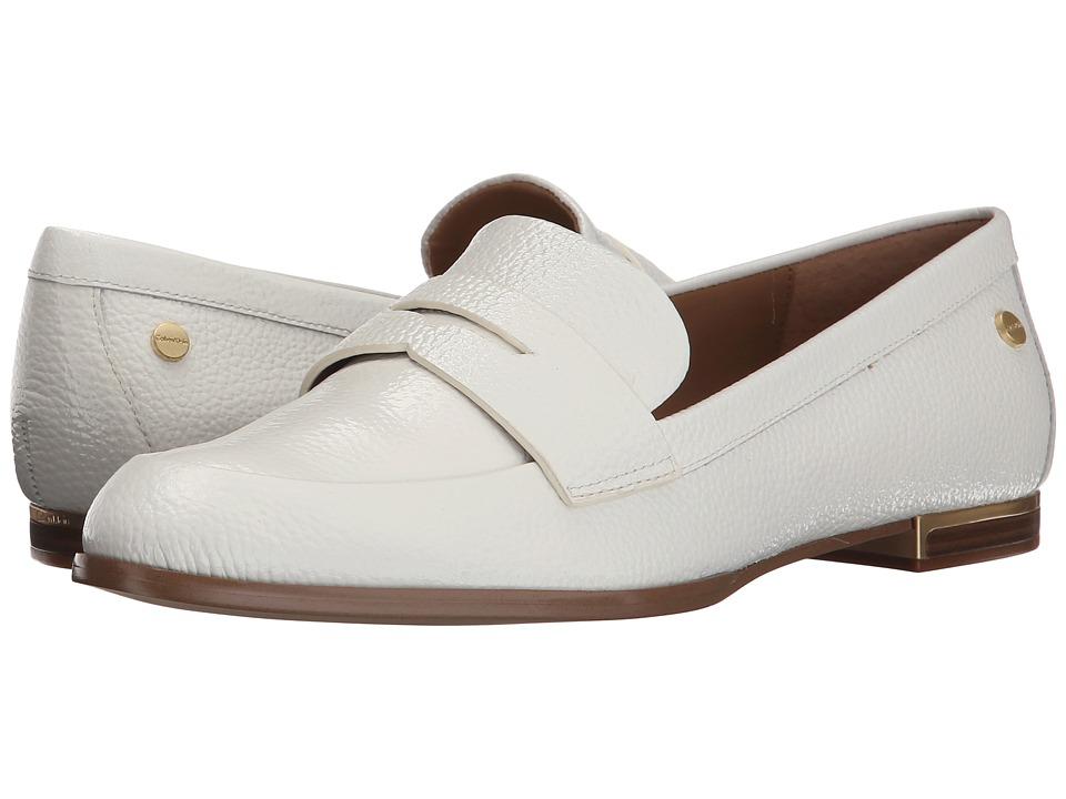 Zapato Mujer Calvin Klein Celia Blanco Planos C Envío Gratis