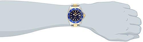 Los hombres Invicta Pro Diver 8928OB 23k chapado en oro y acero inoxidable de dos tonos-reloj automático