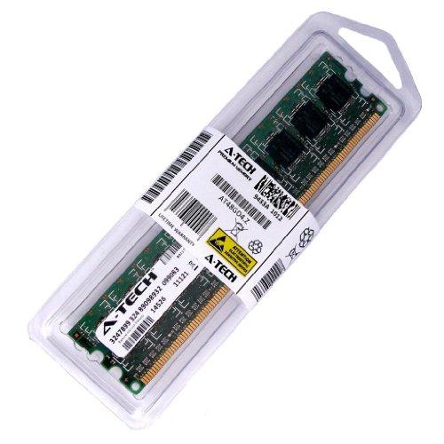 2 GB palo para eMachines EL Series Desktop EL1352G-41W-42W EL1850G EL1860 EL1352 EL1850 EL1852 EL1850-01e EL1852G-52w. DIMM DDR3 PC3-10600 sin ECC de 1333 MHz Memoria RAM. Genuina A-Tech Marca.