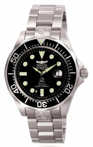 3044 acero inoxidable Gran Diver reloj automático de los hombres de Invicta