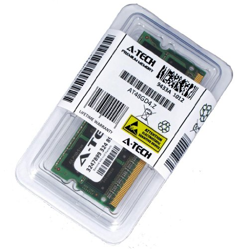 2GB STICK para Gateway Serie LT Notebook LT3201u LT2802u LT2805u LT32 Serie LT3201u. SO-DIMM DDR3 PC3-10600 sin ECC de 1333 MHz Memoria RAM. Genuina A-Tech Marca.