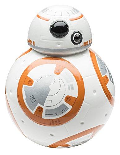 Zak! Diseños del banco de moneda, BB-8 Droid de la fuerza despierta, ahorrar dinero en esta esculpido de cerámica de colección de Star Wars Banco