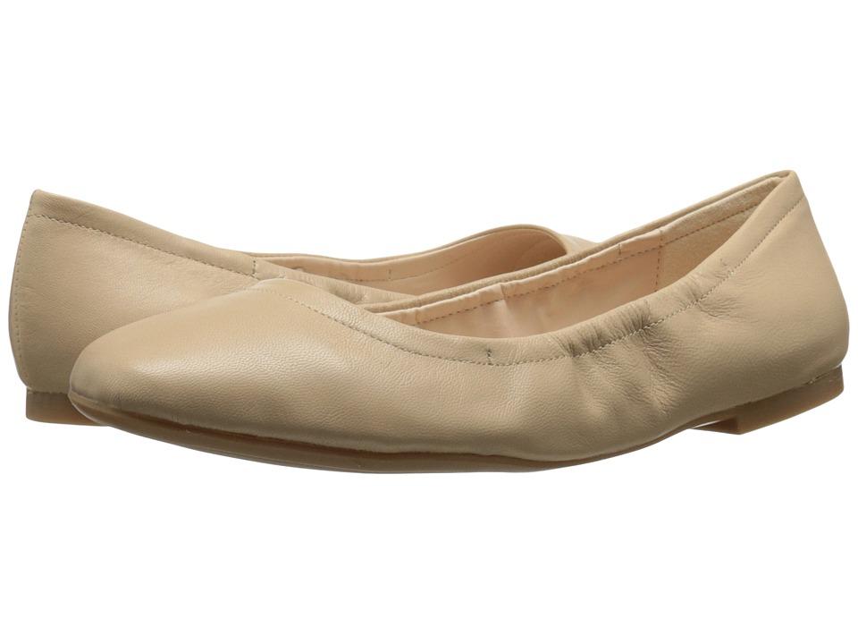Zapato Mujer Nine West Girlsnite Beige Planos S Envío Gratis