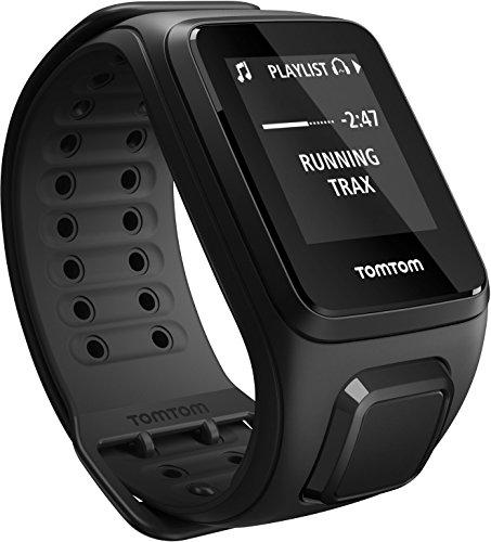 TomTom Spark Cardio, GPS reloj de la aptitud + monitor del ritmo cardíaco (Grande, Negro)