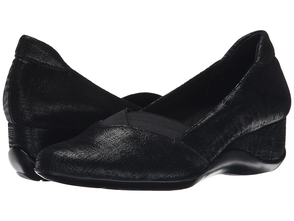 Zapato Plataforma Mujer Vaneli Candee Negro Pla Envío Gratis