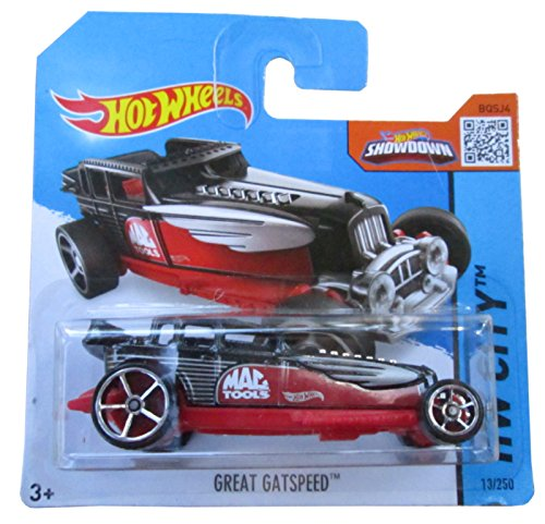 Hot Wheels HW City 13/250 Gran Gatspeed en la tarjeta Corto