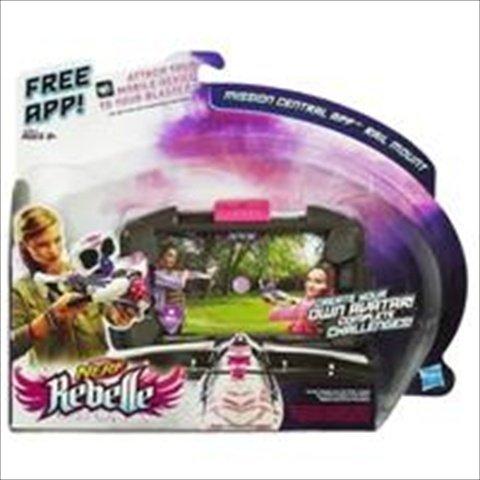 Aplicación del carril central Misión Rebelle A6641 Hasbro Nerf