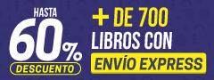 Hasta 60% DCTO - Libros con envio express