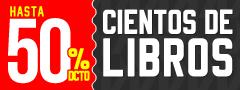 Hasta 50% dcto Cientos de Libros