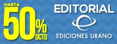 Hasta 50% Dcto en Editorial Ediciones Urano