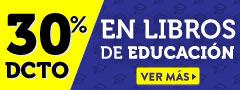 30% dcto en Libros sobre Educación