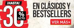 30% DCTO en Libros Clásicos y Bestseller