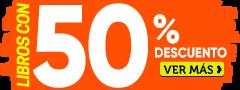 Libros con 50% dcto