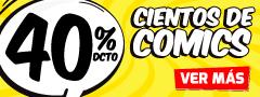 40% Dcto en Cientos de Comics