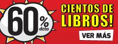 60% dcto - Cientos de Libros