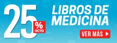 25% DCTO - Libros de Medicina