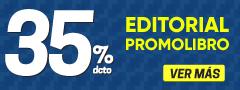 35% DCTO - Editorial Promolibro