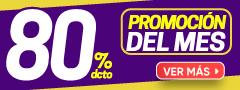 80% Dcto - Promo del mes