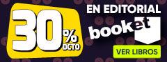 30% DCTO - Libros Booket