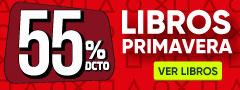 55% DCTO - Libros Primavera