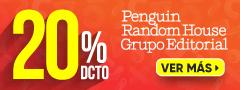 20% de Descuento de Editorial Penguin Random House