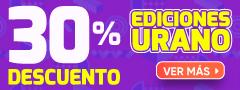 30% Dcto Ediciones Urano