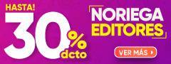 Hasta 30% Dcto Noriega Editores