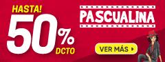 Pascualinas hasta 50% dcto