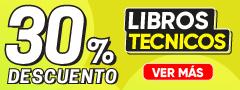 30% DCTO Libros Tecnicos