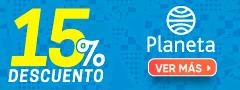 15% DCTO Editorial Planeta