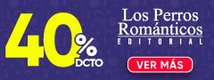 40% DCTO - Libros Editorial Los Perros Romanticos