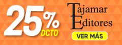 25% DCTO - Libros Editorial Tajamar