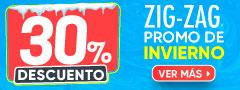 Hasta 40 DCTO - Zig Zag PROMO DE INVIERNO