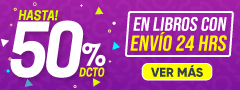 Hasta 50% DCTO - En Libros con envío 24 horas