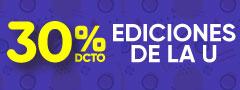 30% Descuento Ediciones de la U