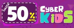50% DCTO - Cyberkids