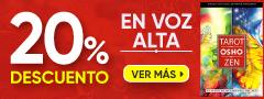20% DCTO - En voz Alta
