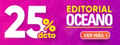 25% DCTO - Editorial Oceano
