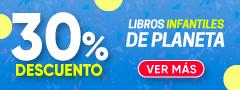 30% DCTO - Libros Infantiles de PLANETA